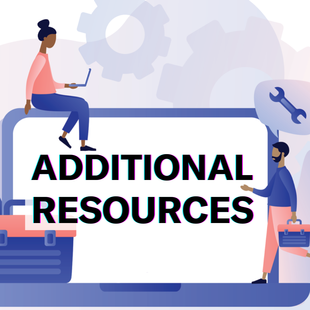 Image: Additional resources