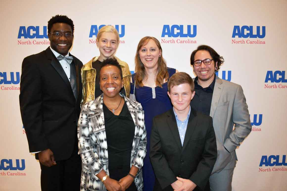 Plaintiffs in our case against HB2 and HB142 at the awards dinner