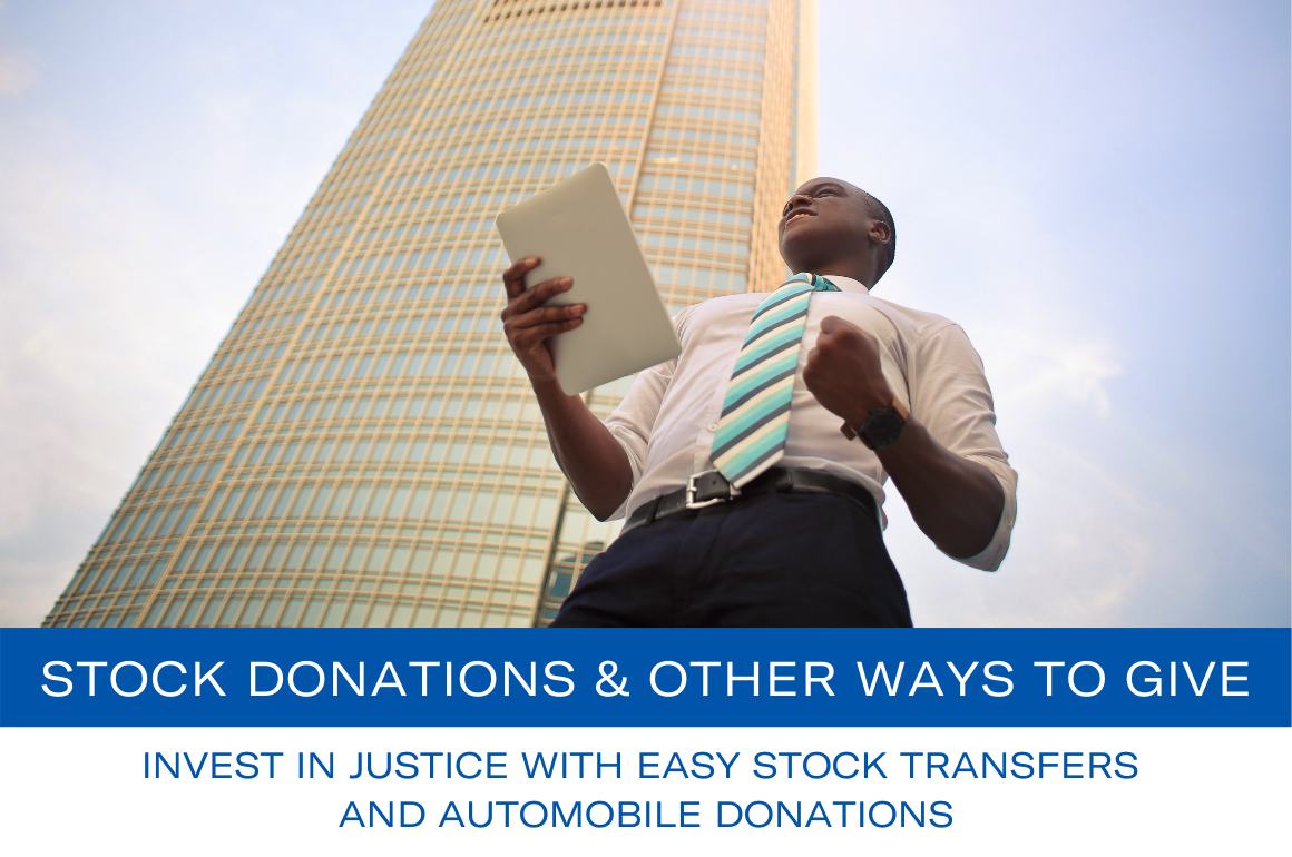 Stock Donations and Other Ways to Give
