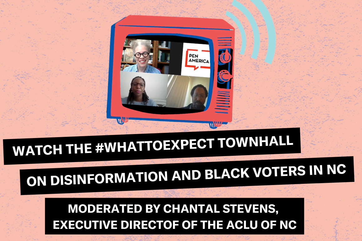 Disinformation Town Hall Video