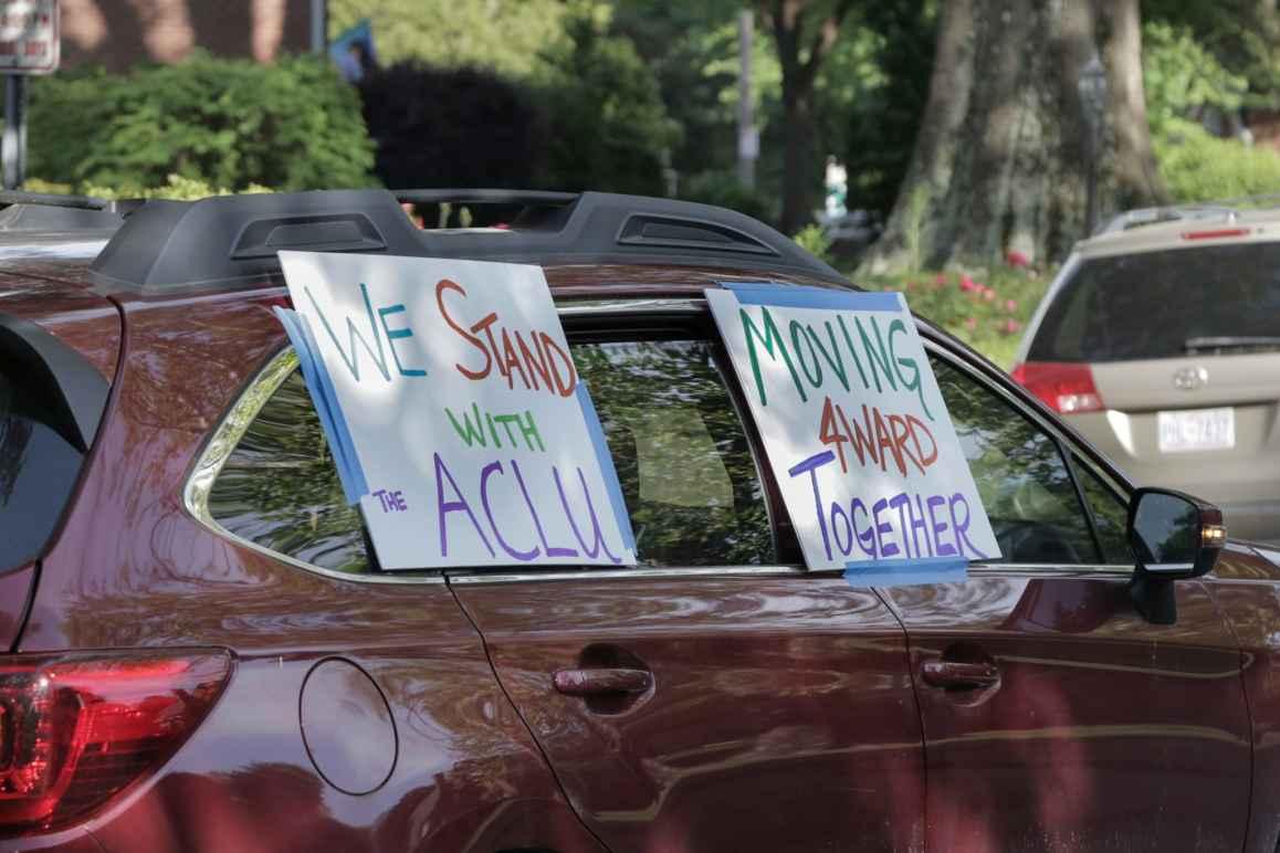 ACLU Car Caravan
