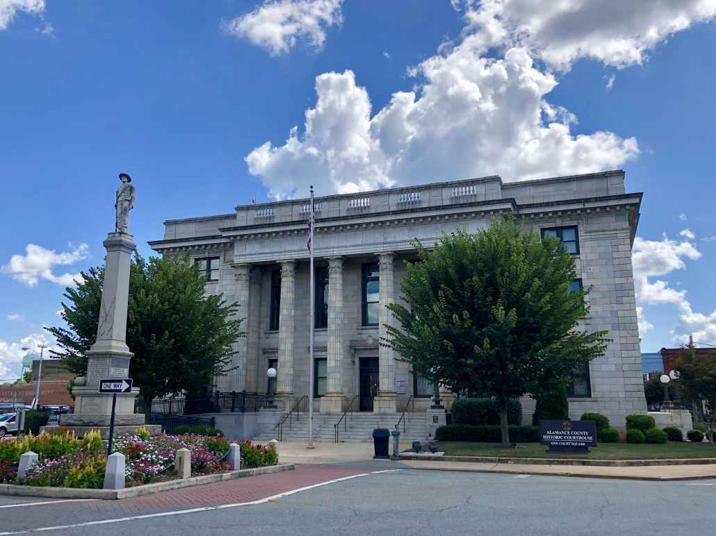 The Alamance County Courthouse