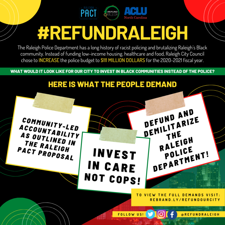 Refund Raleigh