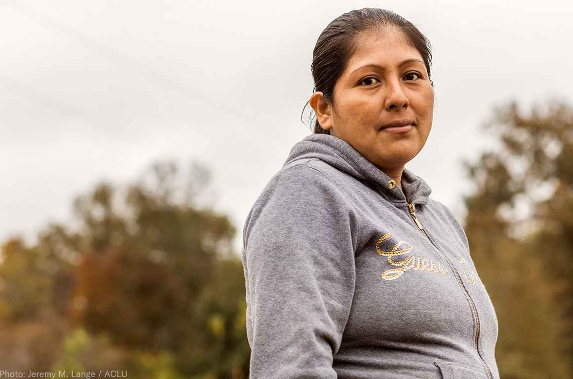 Victoria Hernandez Jose is  a  member  of  North  Carolina's  sole  farmworkers'  union,  which  has  been  targeted  by  a  state  law  limiting  its  ability  too represent  and  advocate  for  farm  laborers.