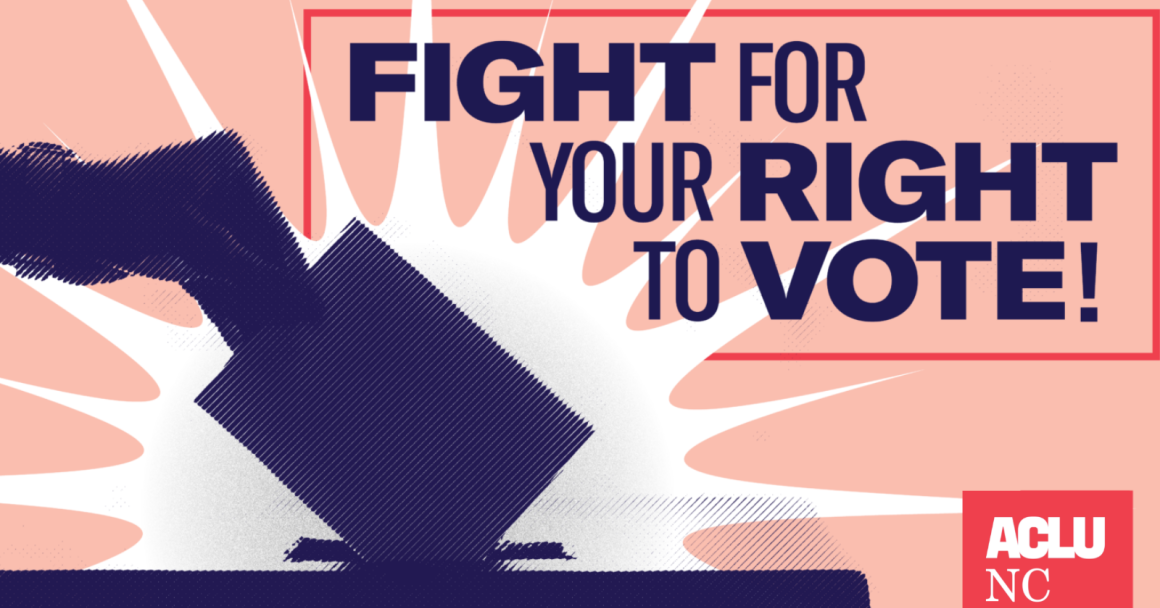 Fight for your right to vote